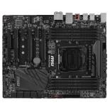 материнская плата MSI X99A SLI PLUS (Socket 2011-3, Intel X99, 8xDDR4, ATX, USB v3.1)