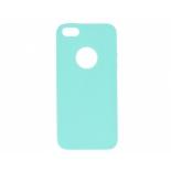 чехол для смартфона Apple iPhone 5S-SE (0.3 mm) голубой