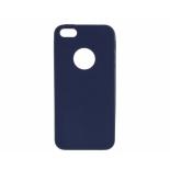 чехол для смартфона Apple iPhone 5S-SE (0.3 mm) синий