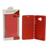 чехол для смартфона Book Case New для Huawei P10 (с визитницей), красный