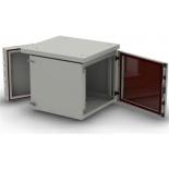телекоммуникационный шкаф NT WALLBOX IP55 plus 15-66 G серый