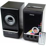 компьютерная акустика Dialog  AD-07 чёрная