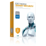 программа-антивирус ESET NOD32 Smart Security Platinum Edition (на 3 ПК)