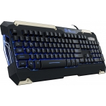 комплект Tt eSPORTS by Thermaltake COMMANDER Gaming Gear Combo Black USB (KB-CMC-PLBLRU-01)