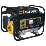 электрогенератор Бензиновый генератор HUTER HT1000L, 220В, 1кВт [ht1000l]