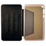чехол для планшета Book Cover для ASUS Fonepad 8 FE380CG с силиконовым основанием без логотипа (чёрный)