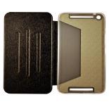 чехол для планшета Book Cover для ASUS MeMO Pad 8 ME581CL с силиконовым основанием без логотипа (чёрный)