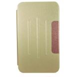 чехол для планшета Book Cover для ASUS MeMO Pad 8 ME581CL с силиконовым основанием без логотипа (золотистый)