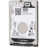 жесткий диск WD 500 Gb, SATA-3, 2.5'', 7200 rpm (WD5000LPLX)