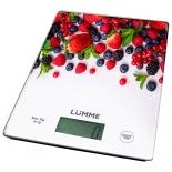 кухонные весы Lumme LU-1340 (рисунок лесная ягода)