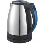 чайник электрический Supra KES-2231, сталь/синий