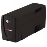 источник бесперебойного питания CyberPower VALUE700EI-B black 700VA/360W