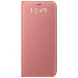 чехол для смартфона Samsung для Galaxy S8 LED View Cover (EF-NG950PPEGRU) розовый