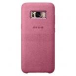 чехол для смартфона Samsung для Galaxy S8+ Alcantara Cover (EF-XG955APEGRU) розовый