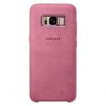 чехол для смартфона Samsung для Galaxy S8 Alcantara Cover (EF-XG950APEGRU) розовый