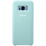чехол для смартфона Samsung Silicone Cover для Galaxy S8+ (EF-PG955TLEGRU) голубой