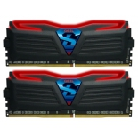 модуль памяти Geil GLR432GB2400C16DC (DDR4 32Gb, 2400 MHz, 2x16 Gb, Black/Red)