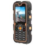 сотовый телефон Ginzzu R2D черный/оранжевый моноблок 2Sim 2.2