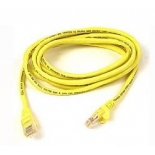 кабель (шнур) Cable Patch Cord 0.5m , желтый
