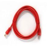 кабель (шнур) Telecom NA102_RED_2.0M (патч-корд, UTP, 2 м, 5e), красный