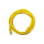 кабель (шнур) патчкорд 5e, 2 м, жёлтый