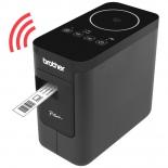 принтер наклеек  BROTHER P-touch PT-P750W (этикеточный), чёрный