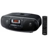 магнитола Panasonic RX-D55EE-K (стерео, 20W, CD, USB, пульт ДУ)