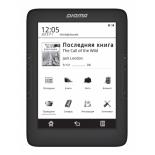 электронная книга Digma T646 (6'' E-Ink 1024x758 Touch, 600MHz 128Mb/4Gb microSDHC), черная