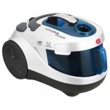 Пылесос Hoover HYP 1600 019, белый/синий