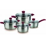 набор посуды для готовки Rondell Strike RDS-818 ST (8 предметов)
