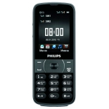 сотовый телефон Philips E560 Xenium черный моноблок 2Sim 2.6