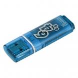 Usb-флешка Smartbuy 64GB Glossy series Blue, купить за 1 350руб.