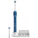 зубная щетка  Braun D21.525.3M, синяя (электрическая)