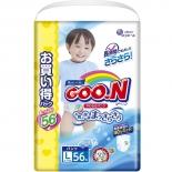 подгузник Goo.N Ultra Jumbo Pack трусики, для мальчиков (9-14 кг)  L