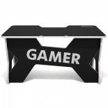 стол компьютерный DXRacer Generic Comfort Gamer 2/N/W, черно-белый