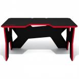 стол компьютерный DXRacer Generic Comfort Gamer 2/N/R, красно-черный