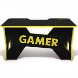 стол компьютерный DXRacer Generic Comfort Gamer2/N/Y, черно-желтый