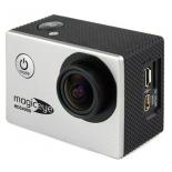 видеокамера Gmini MagicEye HDS4000, экшн-камера с набором принадлежностей, серебристая