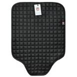 аксессуар к автокреслу BabySmile 123403, защитный коврик на сидение автомобиля, с квадратным рисунком, чёрный