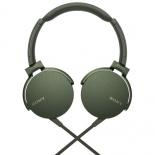 гарнитура для телефона Sony MDR-XB550AP/G, зеленая