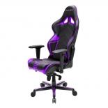 игровое компьютерное кресло DXRACER OH/RV131/NV черный/фиолетовый