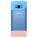чехол для смартфона Samsung для Galaxy S8 2Piece Cover (EF-MG950CLEGRU) голубой-персиковый