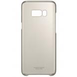 чехол для смартфона Samsung для Galaxy S8+ Clear Cover (EF-QG955CFEGRU) золотистый