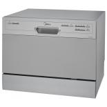 Посудомоечная машина Midea MCFD55200S, серебристая