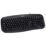 клавиатура Genius KB-M200 USB, черная