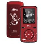 медиаплеер Ritmix RF-4850 8Gb, темно-красный