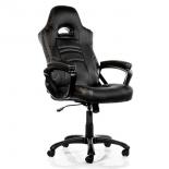 игровое компьютерное кресло Arozzi Enzo, чёрное