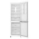 холодильник LG GA-B429SQQZ, белый