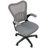 компьютерное кресло COLLEGE HLC-0658F (ткань, сетчатый акрил, серое)