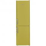 холодильник Liebherr CUag 3311-20 жёлто-зелёный